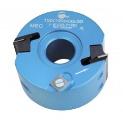 Cabezal de mold. 40 x eje 30/50 mm. con cuhillas MD