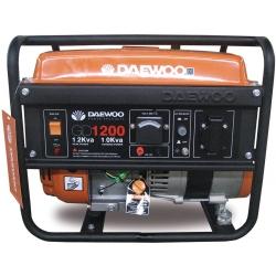 Generador de Gasolina 1.000W. DAEWOO GD 1200
