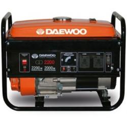 Generador de Gasolina 2.200W. DAEWOO GD 2200