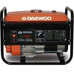 Generador de Gasolina 5.500W. DAEWOO GD 6000