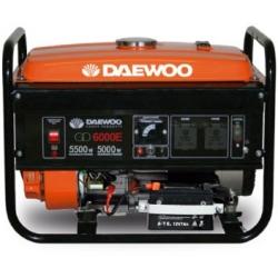 Generador 5.500W. DAEWOO GD 6000E