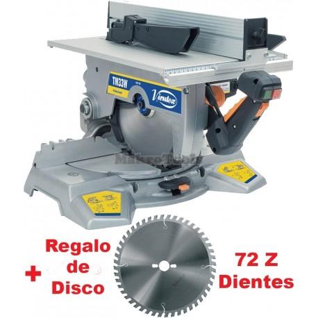 Ingletadora Virutex TM33W +Disco 72Z