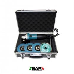 Miniamoladora 720 W. Ø 115. GA4530RX1 + Accesorios