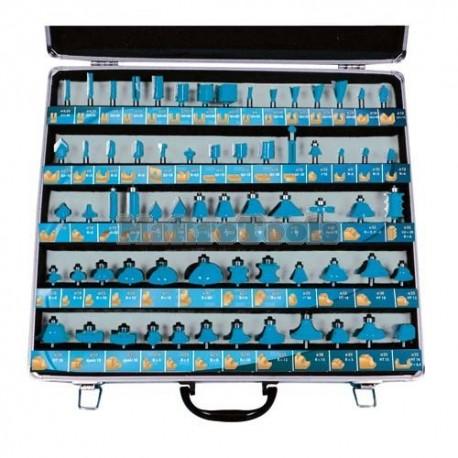 Estuche con 66 Fresas de MD (Widia)