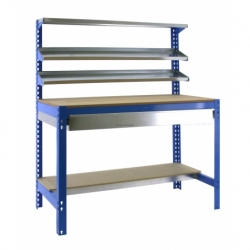 KIT SIMONWORK BT1 BOX 1500 AZUL/MADERA