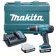 Taladro Combinado Makita HP347DWE 14,4V 1,5Ah.