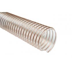 Tubo flexible transparente