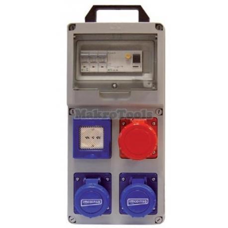 Cuadro Eléctrico Termoplastis 230V / 16AMP 2G63