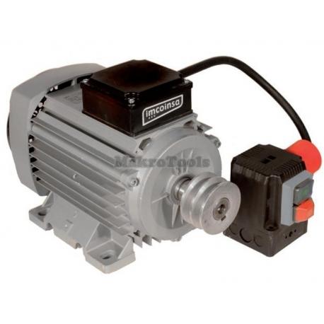 Motor Hormigonera 230V. 3HP. 1.450 r.p.m. Con Interruptor Cortacorriente C.E Incorporado