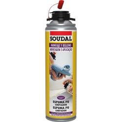 Limpiador de Espuma Poliut¡retano 500 ml. Soudal