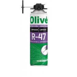 Limpiador de Espuma Poliuretano 500 ml. OLIVÉ R-47