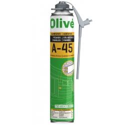 Espuma Adhesiva Instantánea OLIVÉ A-45