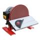 Lijadora de Disco Holamann TSM250 con Mesa Ajustable 45º