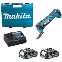 Multiherramienta Makita TM30DSAEX1. 12Vmax CXT