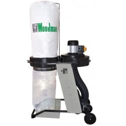 Aspirador 1 Hp. DE-150P Caudal aspirable 1.100 m3/h
