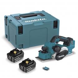 Cepillo BL 18V LXT 5,0 Ah 82 mm AFT AWS DKP181RTJU con 2 Baterías de 18V 5.0Ah