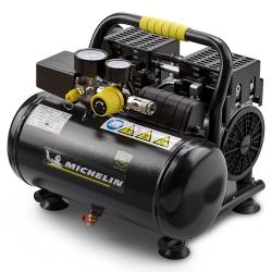 Compresor Silencioso 6L. 1HP 59 dB. MICHELIN CA-MX6-1