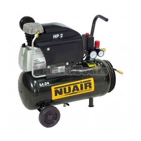 Compresor 24 Lts. y 50 Lts. Nuair