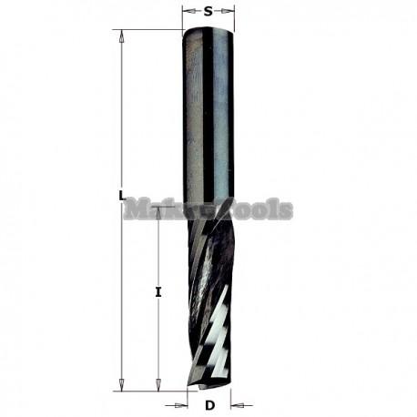 Fresa 1Z. Aluminio, PVC y Plástico