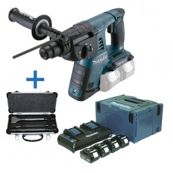 Martillo Ligero 26mm + Kit 4.0 Ah DHR263PM4