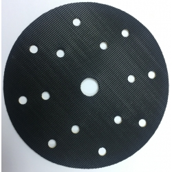 Base adhesiva de velcro Ø150 con 15 Agujeros Velcro-Adhesivo