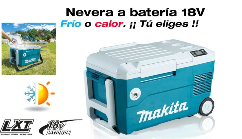 Nevera Makita